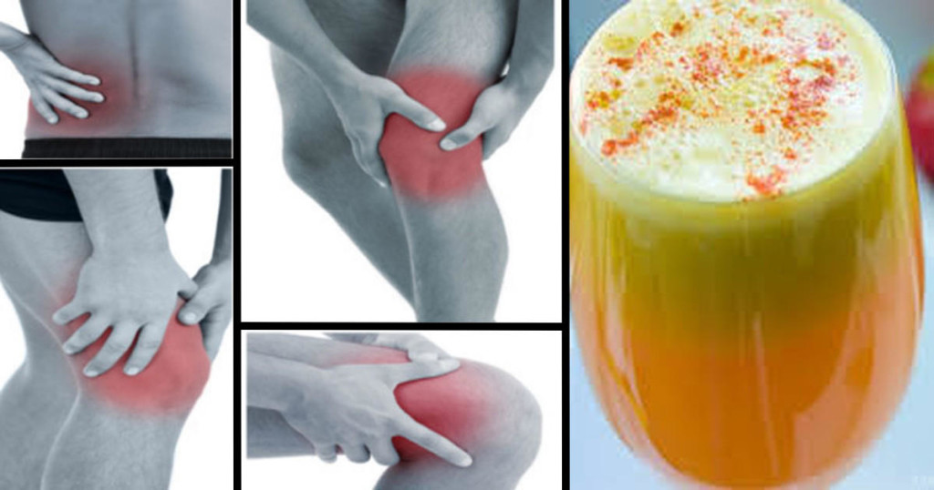 Say Goodbye To Pain In Your Joints, Legs And Spine With This Proven Anti-Inflammatory Smoothie.
