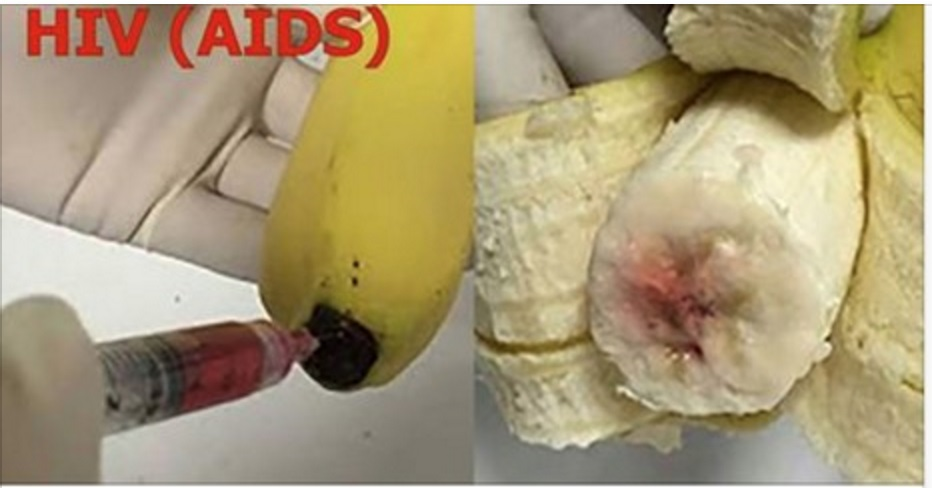 Shocking: Are BANANAS Being INJECTED with HIV virus?